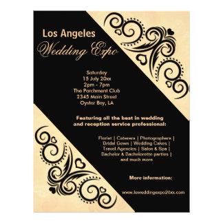 Het Huwelijk Expo van het Hart van wervelingen Si Fullcolor Folder