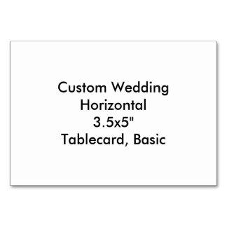 """Het Huwelijk Horizontale 3.5x5"""" Tablecard van de Kaart"""