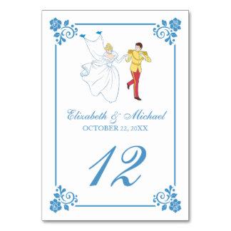 Het Huwelijk van Cinderella   Aantal van de Lijst Kaart