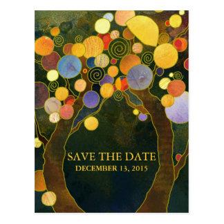 Het Huwelijk van de Bomen van de liefde bewaart de Briefkaart
