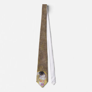 Het huwelijk van de Kus door Gustav Klimt Tie Custom Stropdas