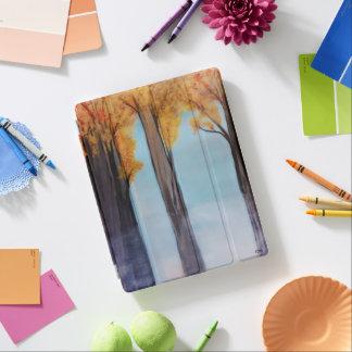 Het i-Stootkussen van bomen Dekking iPad Cover