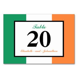 Het Ierse Huwelijk van Ierland van de Vlag Kaart