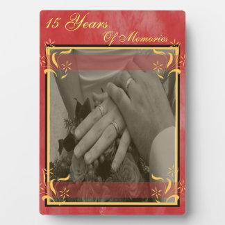 Het Jubileum van het huwelijk Fotoplaat