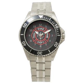 Het Kenteken van het brandweerkorps Horloges