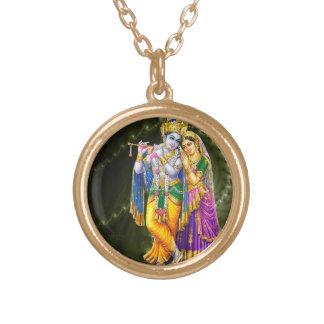 Het ketting van Krishna van Radha