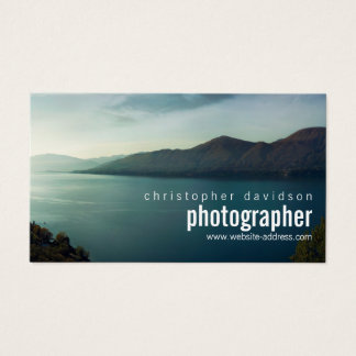 Het klantgerichte Visitekaartje van de Fotograaf Visitekaartjes