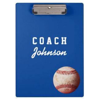 Het Klembord van de Bus van het honkbal met de