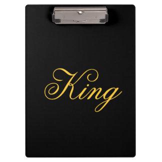 Het Klembord van de koning