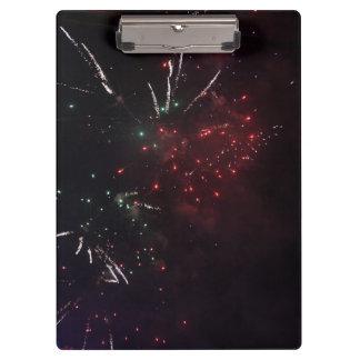Het Klembord van het vuurwerk