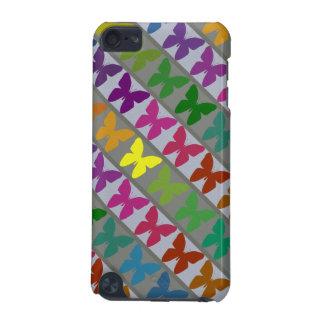 Het kleurrijke hoesje van het vlinderontwerp ipod