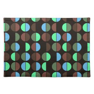 Het kleurrijke Naadloze Patroon van de Stip Placemat
