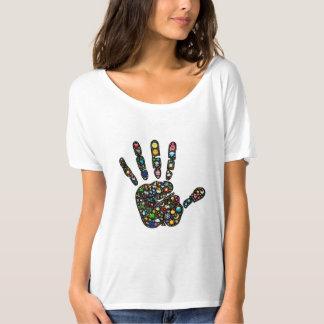 Het kleurrijke van het emoji-Kunst ontwerp T Shirt
