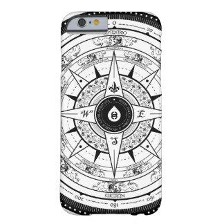 Het kompas nam - iPhone 6 (Wit) hoesje toe