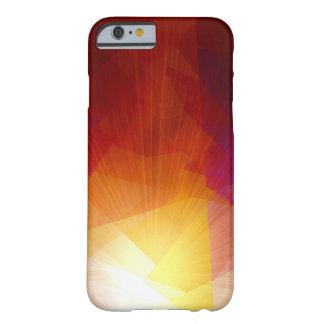 Het kubisme abstract art. van het zonlicht barely there iPhone 6 hoesje