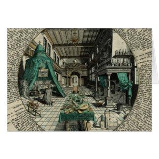 Het laboratorium van de Alchimist Briefkaarten 0
