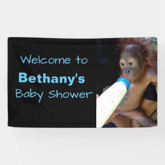 Het leuke Gepersonaliseerde onthaal van het Baby Spandoek