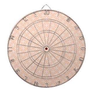 Het leuke Patroon van de Cirkels van de Perzik van Dartbord