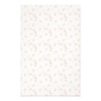 Het leuke Patroon van de Madeliefjes van de Zomer Briefpapier
