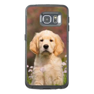 Het leuke Portret van het Puppy van de Hond van OtterBox Samsung Galaxy S6 Edge Hoesje