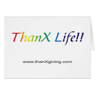 Het Leven van het bedankt!!! Briefkaarten 0
