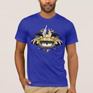 Het Logo van Batman met Auto's T Shirt