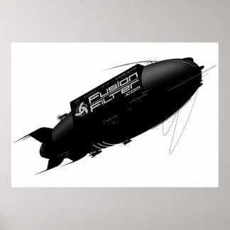 Het Luchtschip van FusionFilter Poster