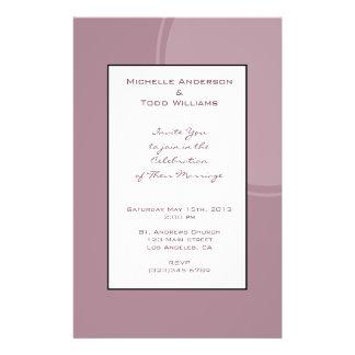 Het Mauve Roze Huwelijk van mod Folders