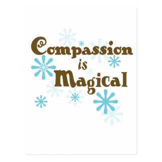 Het medeleven is Magisch Wens Kaart
