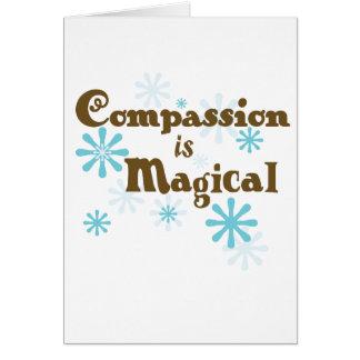Het medeleven is Magisch Kaarten