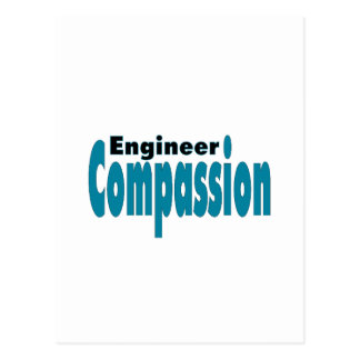 Het Medeleven van de ingenieur Briefkaart