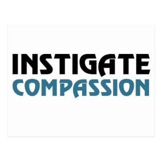 Het Medeleven van Intigate (de Grote Uitgave Karma Briefkaart