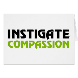 Het Medeleven van Intigate (de Grote Uitgave Karma Wenskaart
