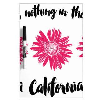 Het meisje van Californië Whiteboard