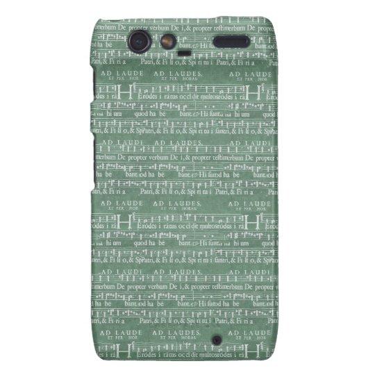 Het middeleeuwse Hoesje van Motorola RAZR van het