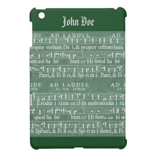 Het middeleeuwse MiniHoesje van het Manuscript van iPad Mini Cases