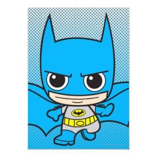 Het mini Lopen van Batman 12,7x17,8 Uitnodiging Kaart