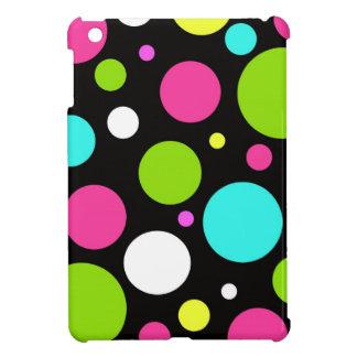 Het MiniHoesje van de Stippen van het neon iPad iPad Mini Hoesjes