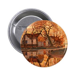 Het Moderne Art. van Piet Mondrian Ronde Button 5,7 Cm