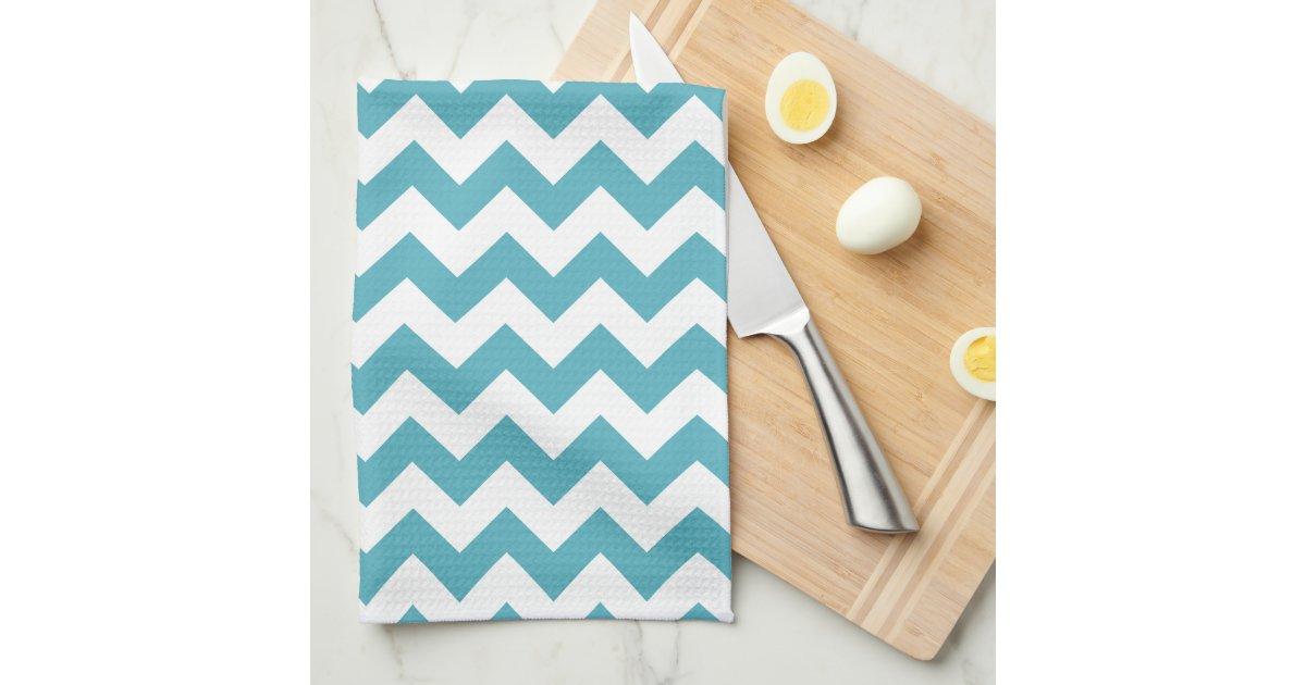 Het moderne blauwgroen blauwe en witte patroon van keuken ...