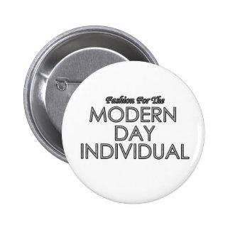 Het moderne Individuele Kenteken van de Dag Button