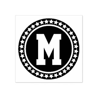 Het Monogram van All Star Varsity Rubberstempel