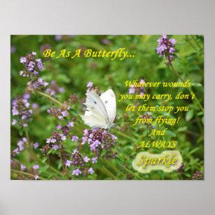 spreuken met vlinders Vlinder Spreuken Cadeaus   Zazzle.be spreuken met vlinders