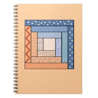 Het Notitieboekje van het Dekbed van het blokhuis Notitieboek