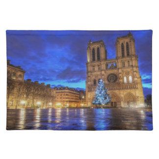 Het Notre-Dame de Paris van Cathédrale Onderlegger