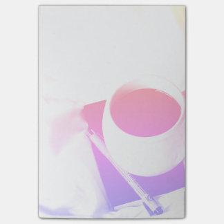 Het Ontbijt van de Kop van de Koffie van de Post-it® Notes