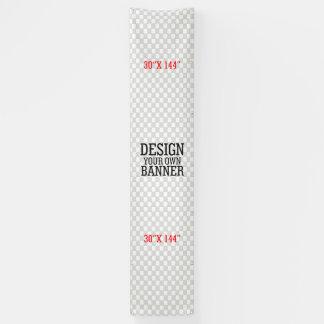 Het ontwerp en maakt tot Uw Eigen stap verticale Spandoek