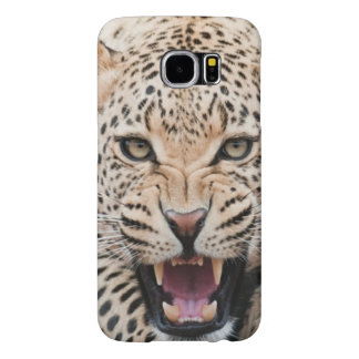 Het ontwerp van de luipaard voor de Melkweg van Samsung Galaxy S6 Hoesje