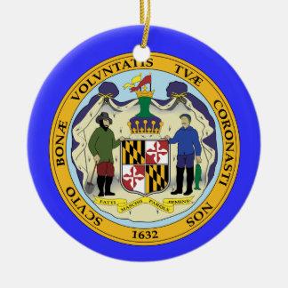 Het Ornament van Kerstmis van Maryland*