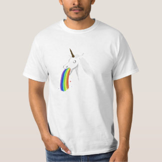 Het overgeven van de T-shirt van de Eenhoorn